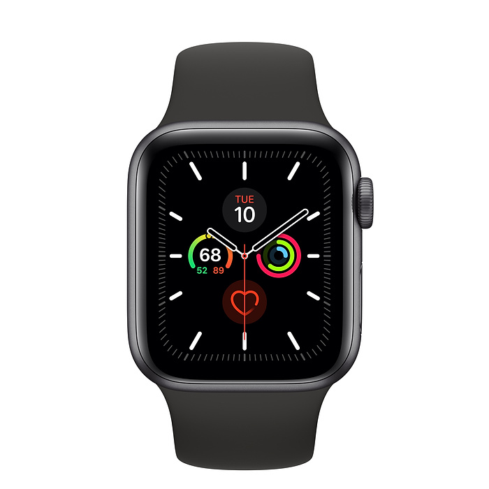 Image For Apple Watch<Br> Series 5 (GPS) <Br> Space Gray<BR>44MM