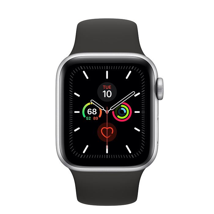 Image For Apple Watch<Br> Series 5 (GPS) <Br> Silver<Br>44Mm