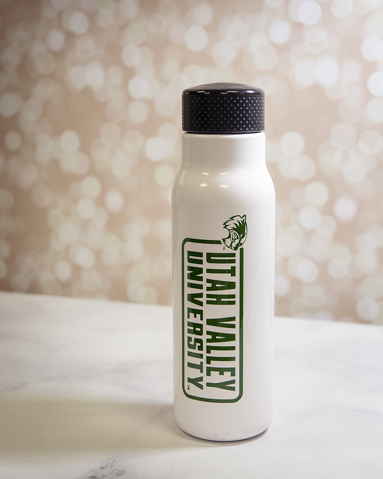Image For H2GO UVU White<br>Sports Bottle