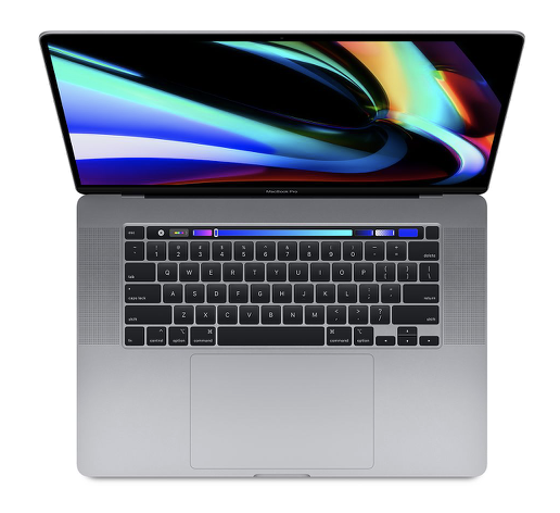 "Image For Macbook Pro 16"" <br> 512GB <br> Space Gray <br> Touch Bar"