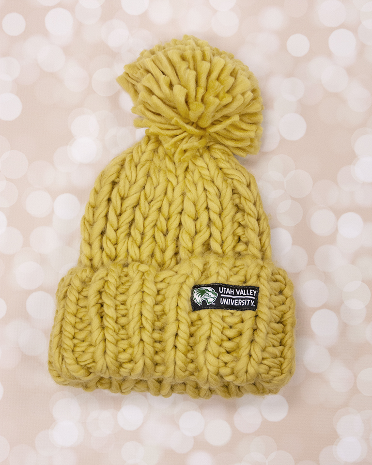 Image For Hand Knit<br>Gooseberry Beanie