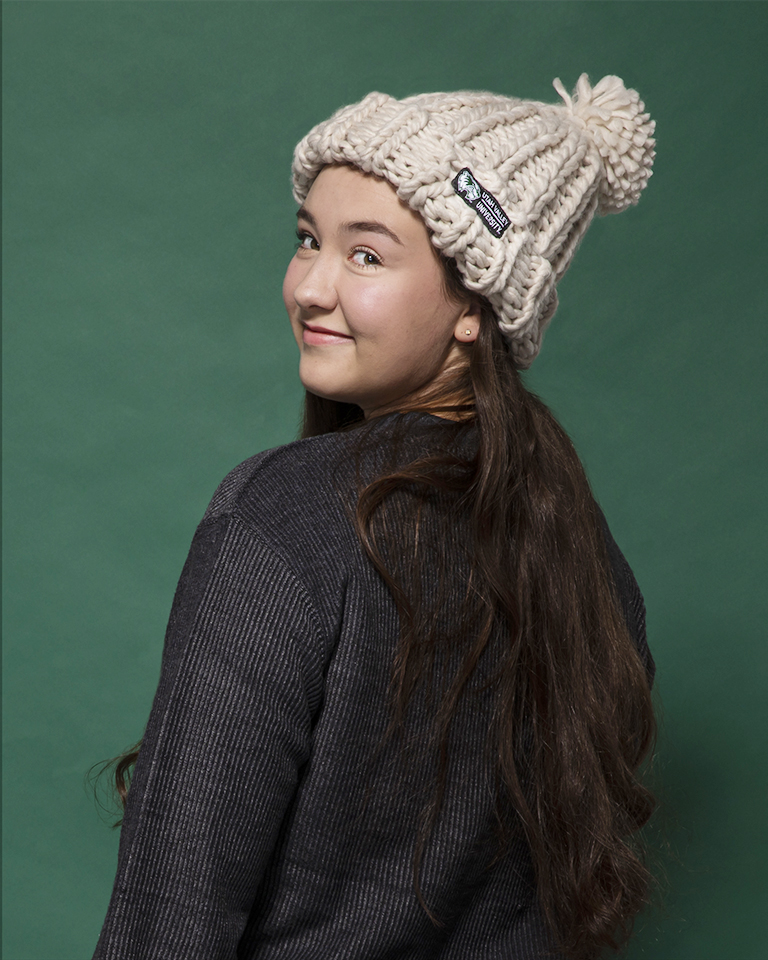Image For Hand Knit Oatmeal Beanie