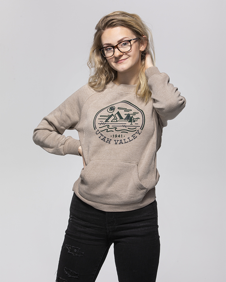 Image For Women's Cut<br>MV Sport<br>Atmosphere Crew Neck