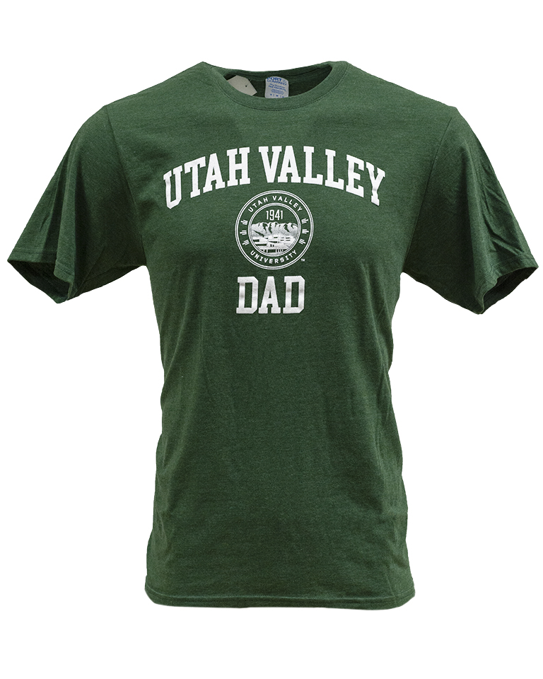 Image For UVU Dad Triblend Tee<br>