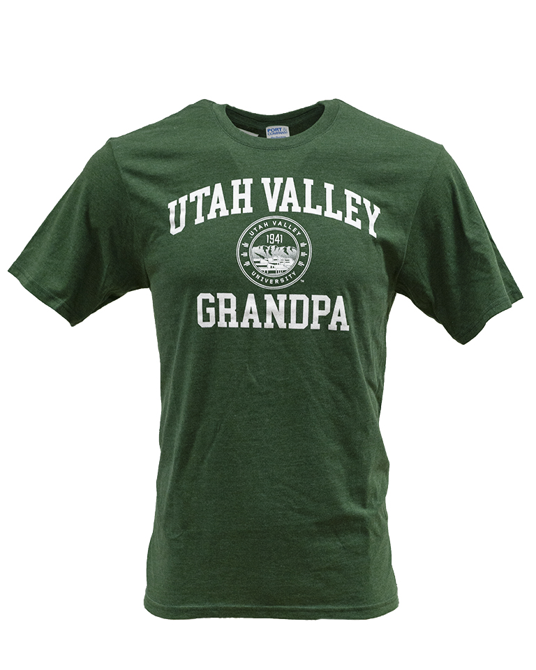 Image For UVU Grandpa Triblend Tee<br>