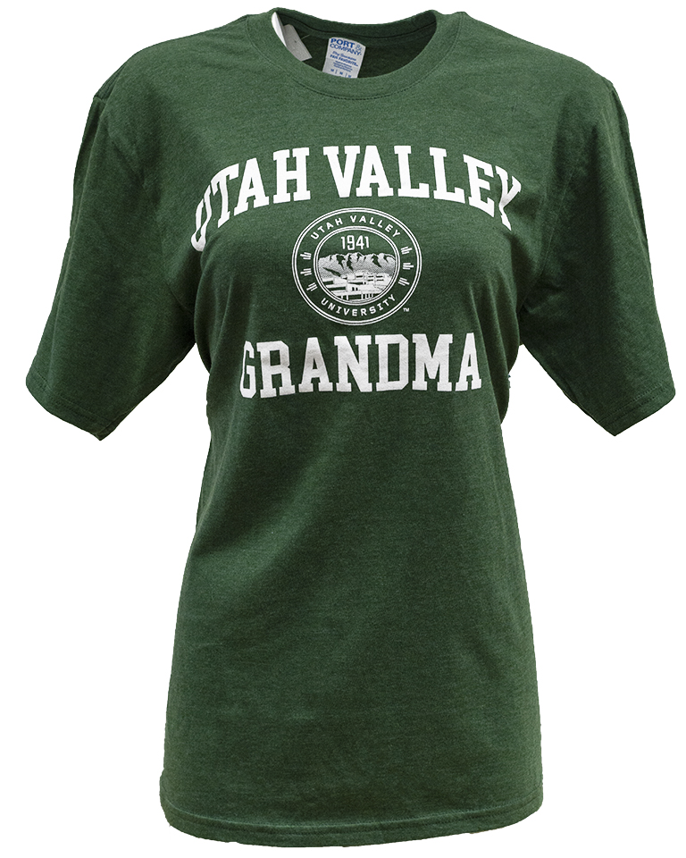 Image For UVU Grandma Triblend Tee<br>