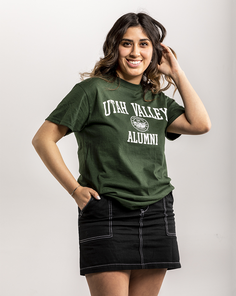 Image For UVU Alumni Triblend Tee<br>