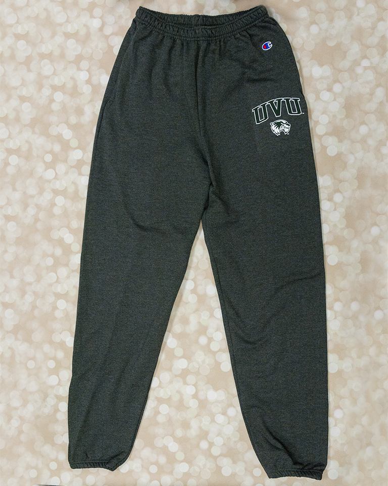 Image For Champion Charcoal<br> Band Sweatpants