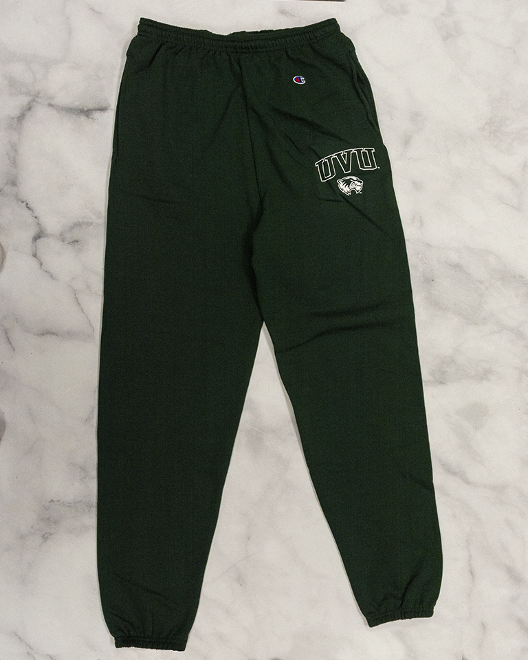 Image For Champion Green<br> Band Sweatpants