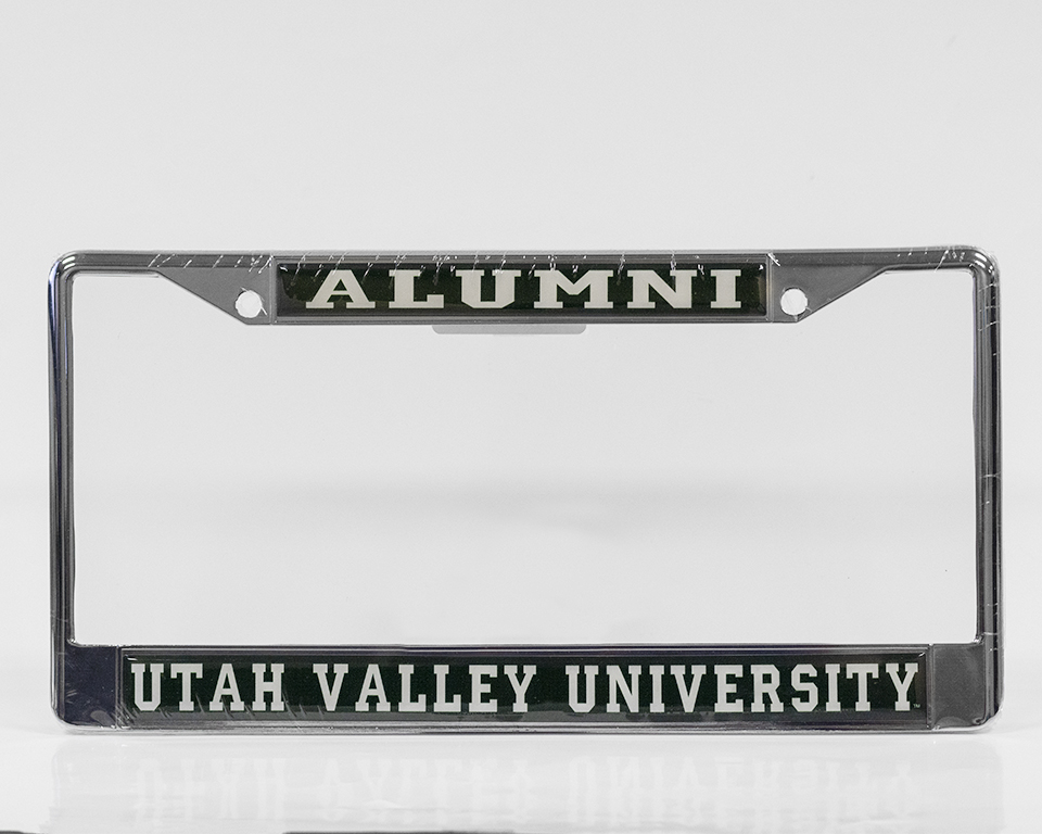 Image For UVU Alumni License Plate Holder