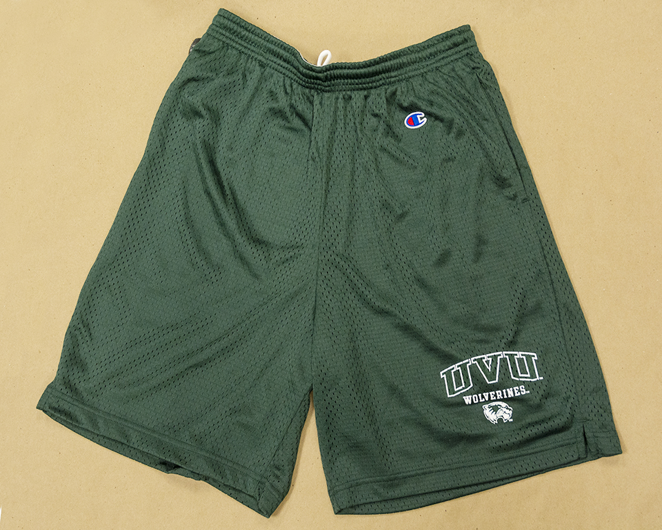 Image For Champion Green<br>Mesh Shorts
