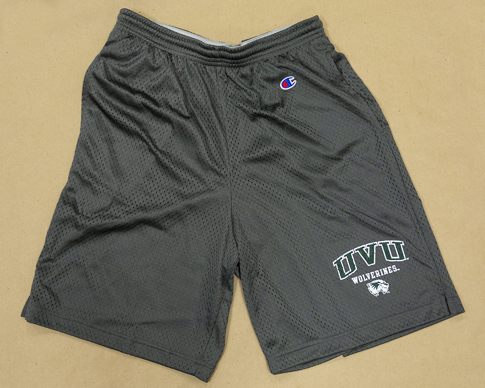 Image For Champion Charcoal<br>Mesh Shorts