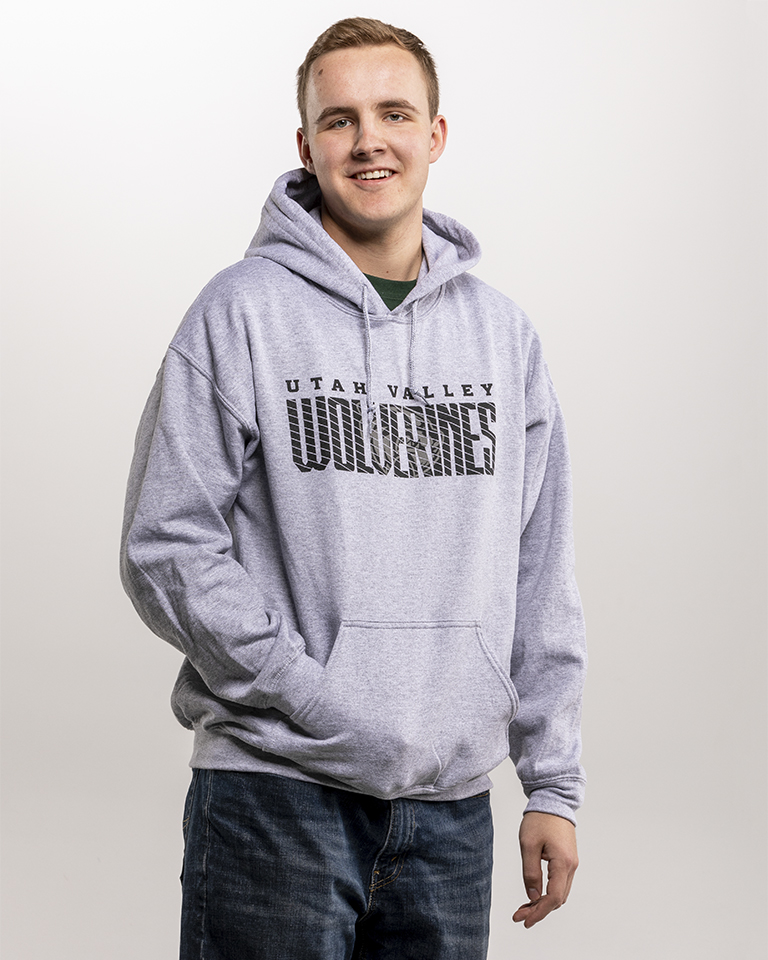 Image For College House Heather<br>Gray Hood