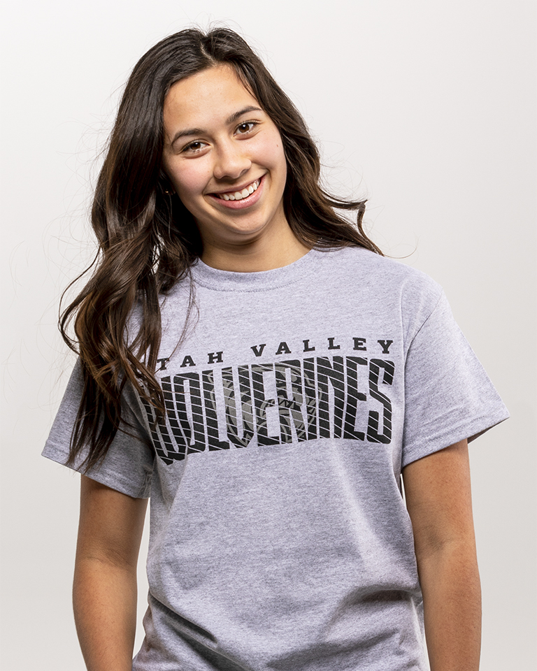 Image For College House Sport Gray Tee