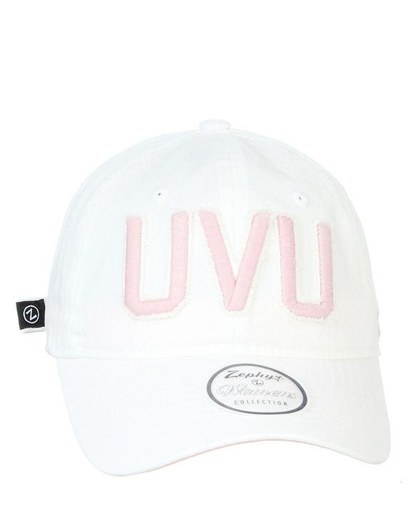 Cover Image For Women's Fit<br>White/Pink Wash<br>Adjustable Hat