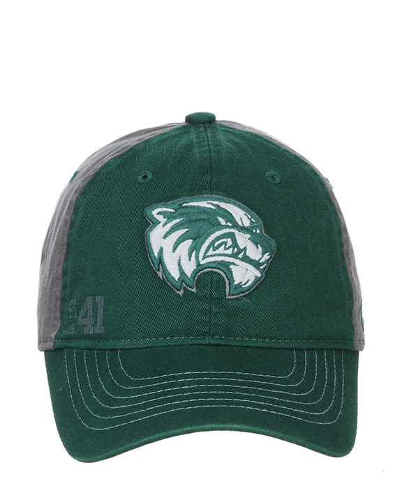 Cover Image For Gray/Green<br>Origin Custom UVU<br>Adjustable Hat
