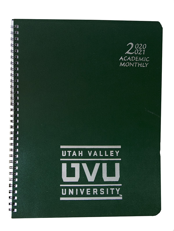 Image For UVU 2020-21 Planner 8.5x11
