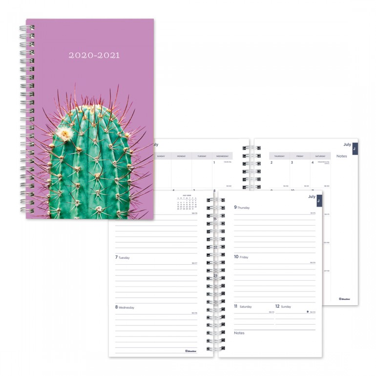 Image For Academic Weekly Planner Arizona 2020-21 - Purple