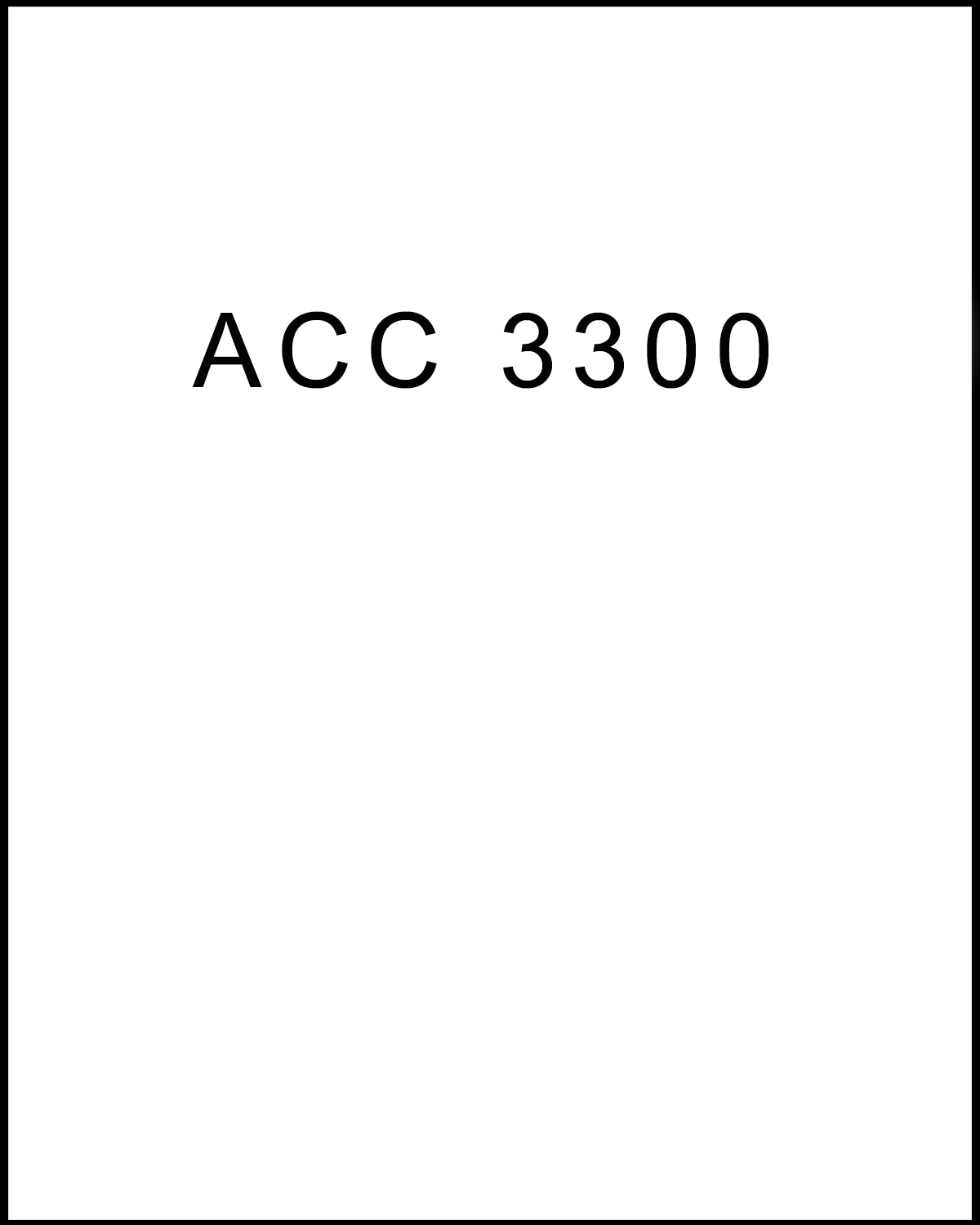 Image For ACC 3300<br>Professor Kari Olsen<br>