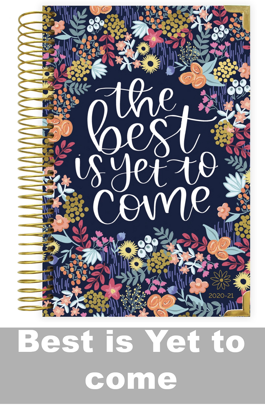 Image For Bloom 2020-21 Hard Cover Academic Daily Planner & Calendar
