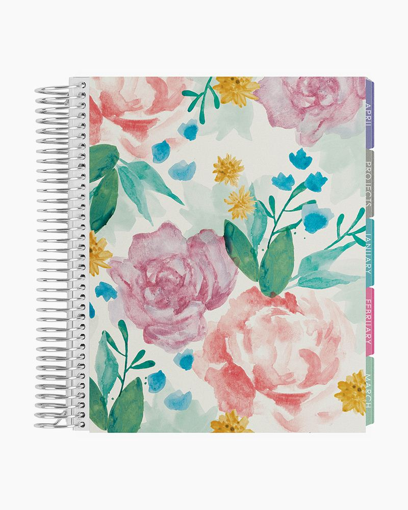 Image For Erin Condren: Watercolor Blooms