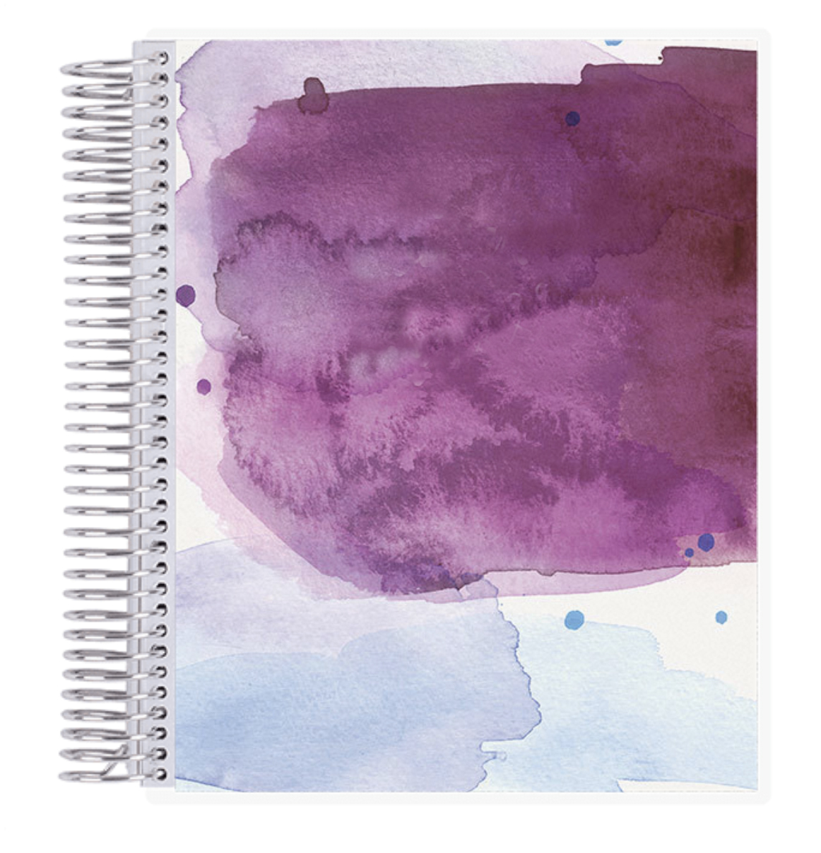 Image For Erin Condren: Watercolor Academic Planner