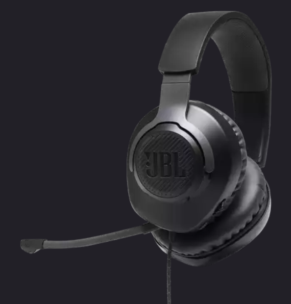 Image For JBL Quantum 100 <br>Wired Over-Ear <br>Gaming Headset