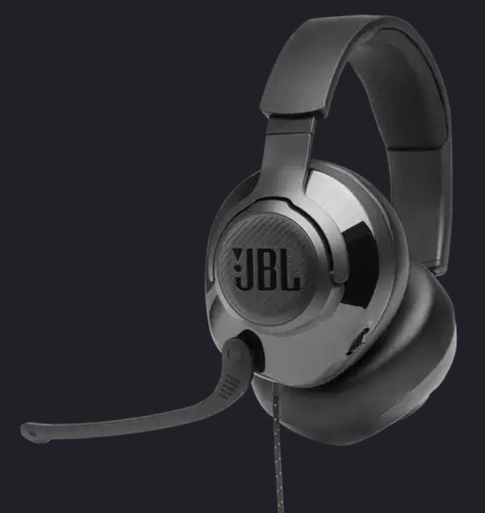 Image For JBL Quantum 200 <br>Wired Over-Ear <br>Gaming Headset