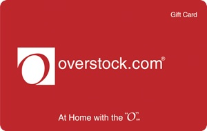 Cover Image For OVERSTOCK GC $50