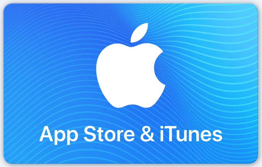 Cover Image For APPLE GIFT CARD $25