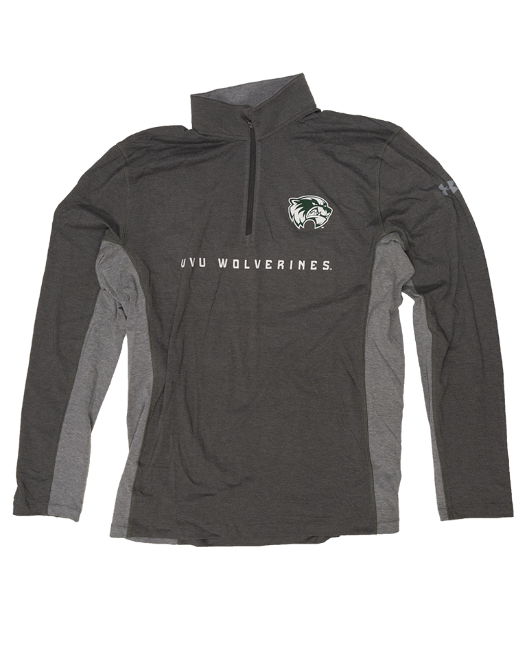 Image For Under Armour 1/4 Zip<br>Carbon Heather