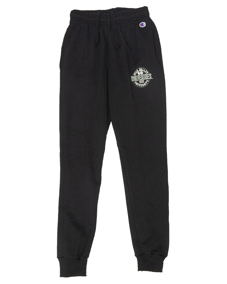 Image For Black PB Fleece Joggers