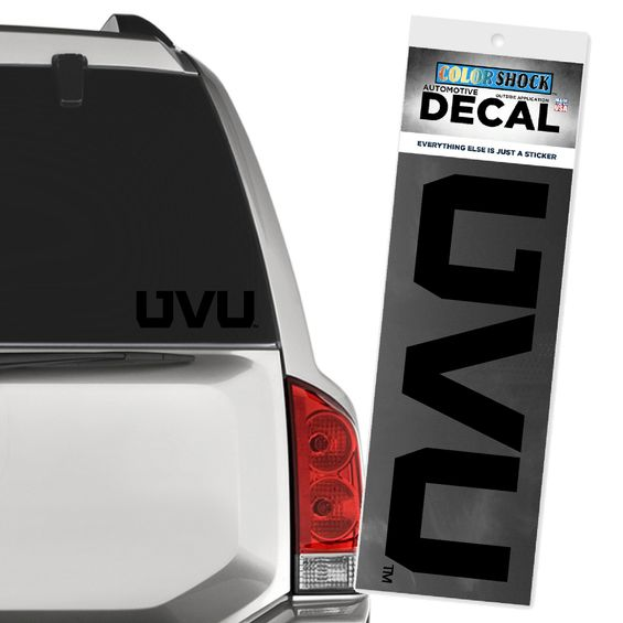 Image For UVU Blackout Decal