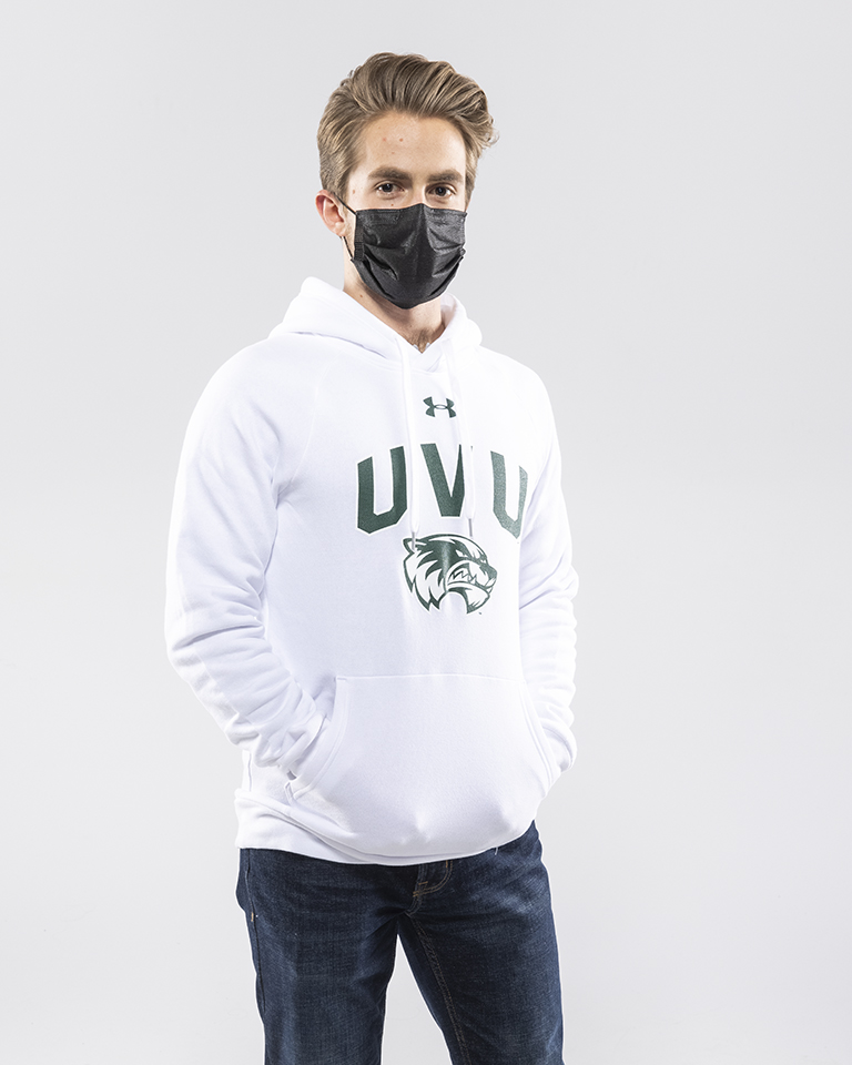 Image For Under Armour<br>All Day<br>White Hood