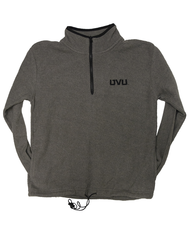Image For MV Sport Aurora Fleece Gray Sweatshirt