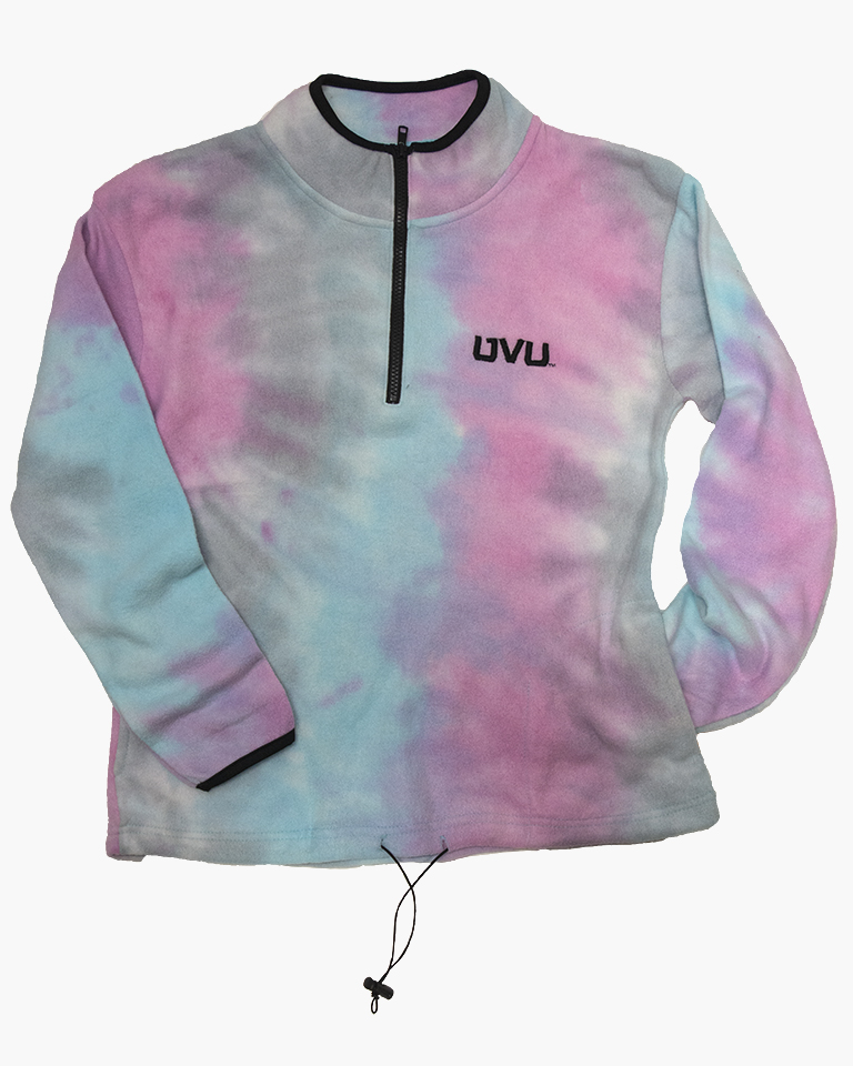 Image For MV Sport Aurora Fleece Patel Tie Dye Sweatshirt