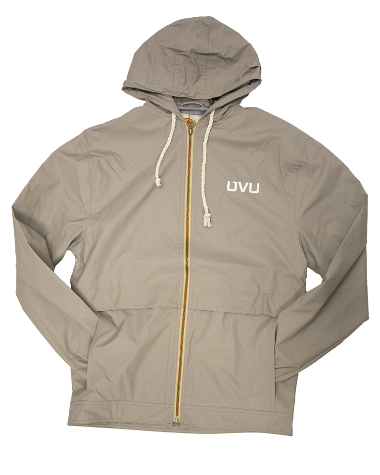 Image For MV Sport Hooded Khaki Jacket