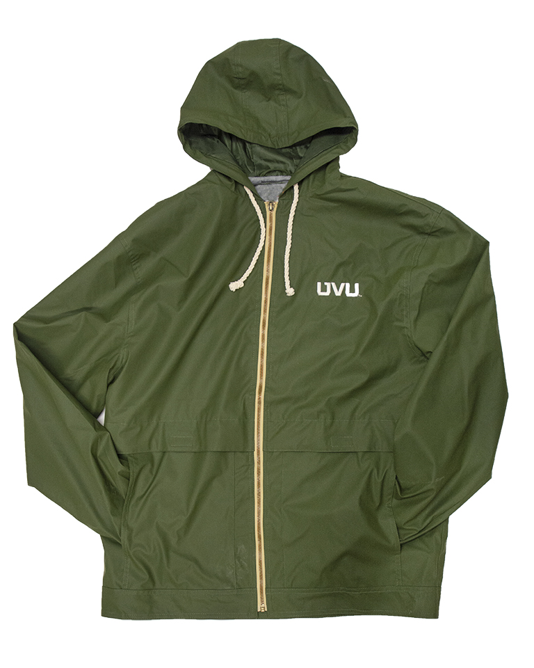 Image For MV Sport Hooded Green Jacket