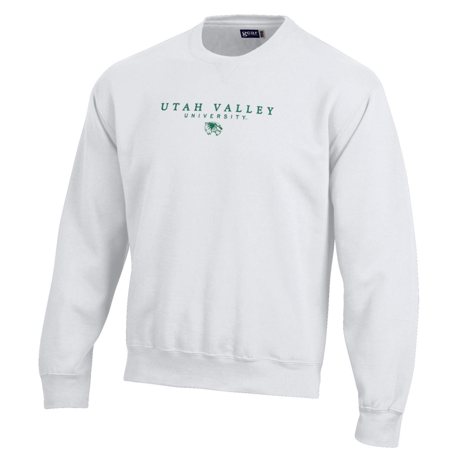 Image For Big Cotton White Crew Neck