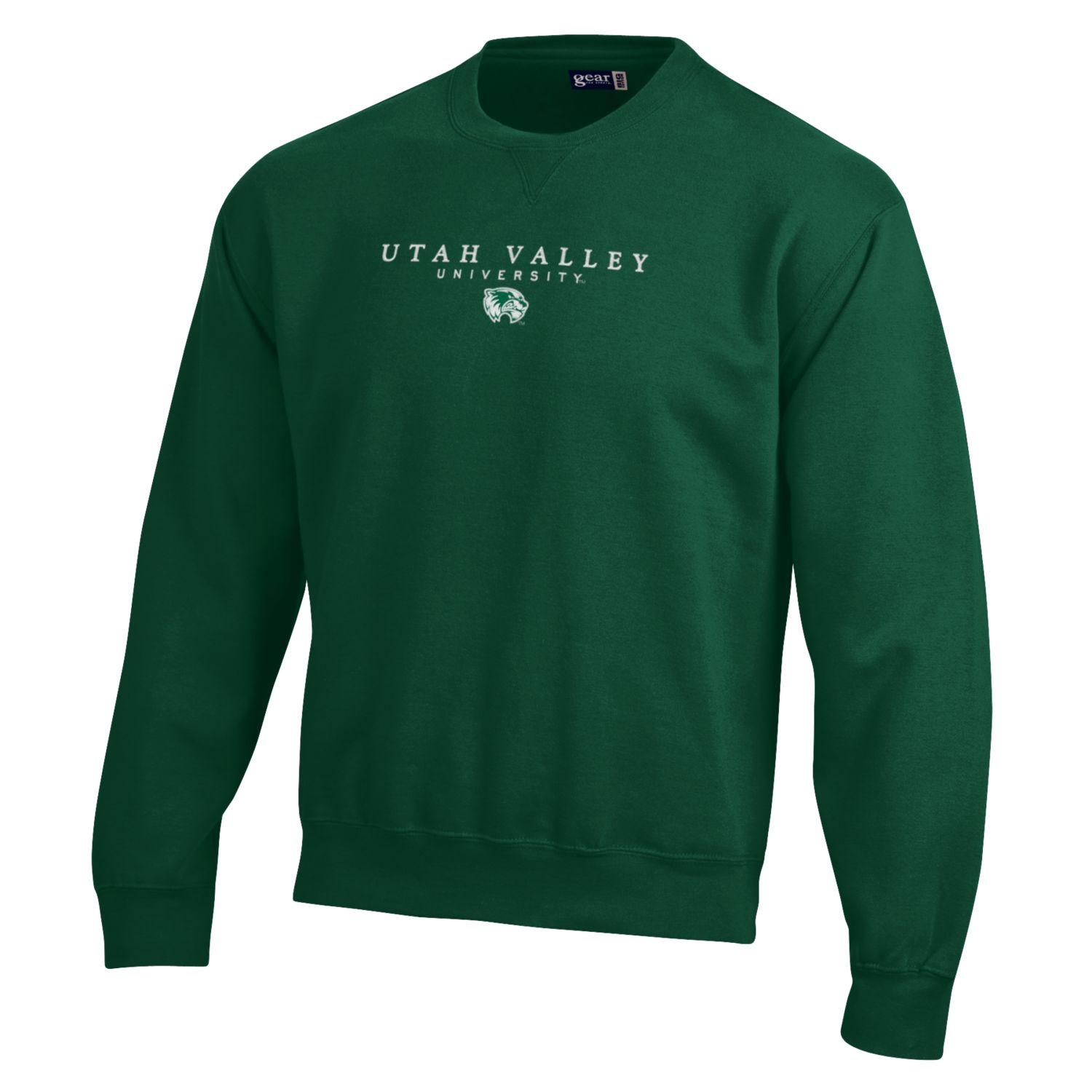 Image For Big Cotton Green Crew Neck